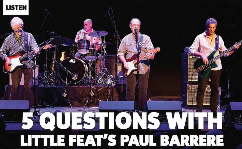 5 Questions with Little Feat's Paul Barrere