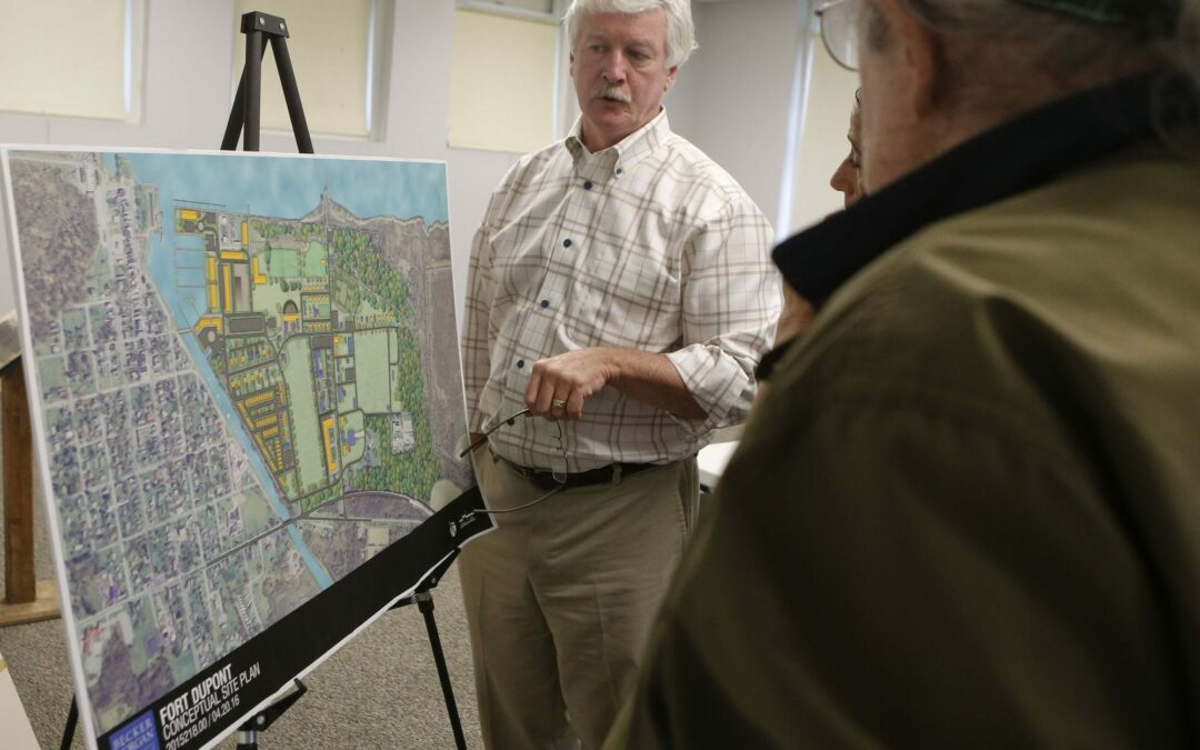 Fort DuPont annexation plan riles Delaware City