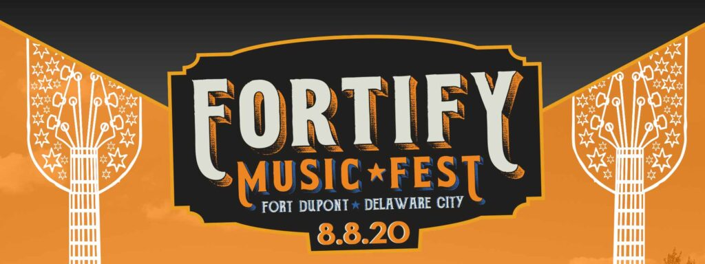 Announcing the third annual Fortify Music Fest at historic Fort DuPont in Delaware City!
